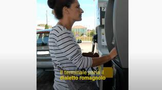 terminale parla in romagnolo