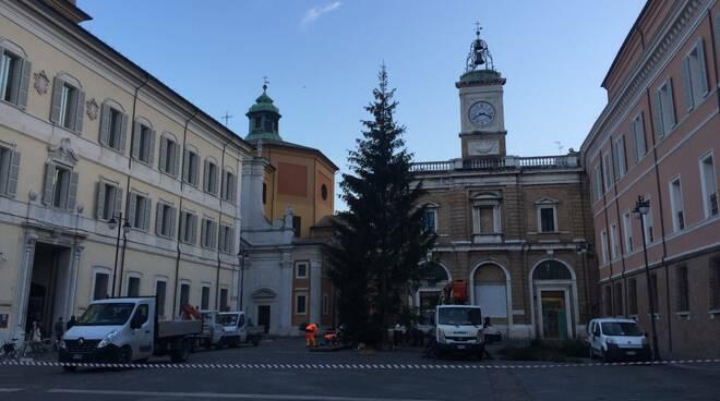 albero di natale Ravenna 2020