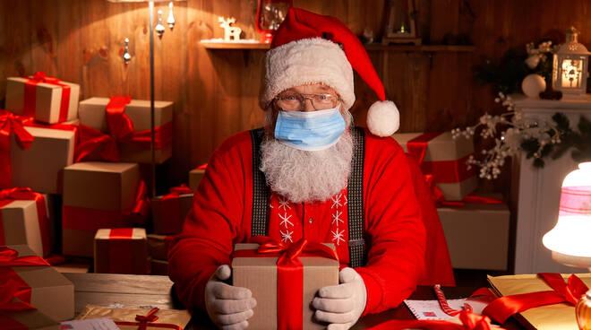 Babbo Natale Mascherina
