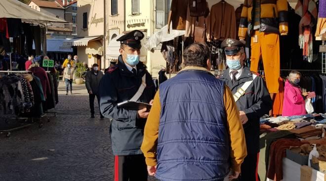 Carabinieri di Novafeltria-controlli nei mercati