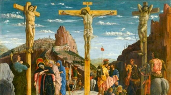 Crocifissione Mantegna