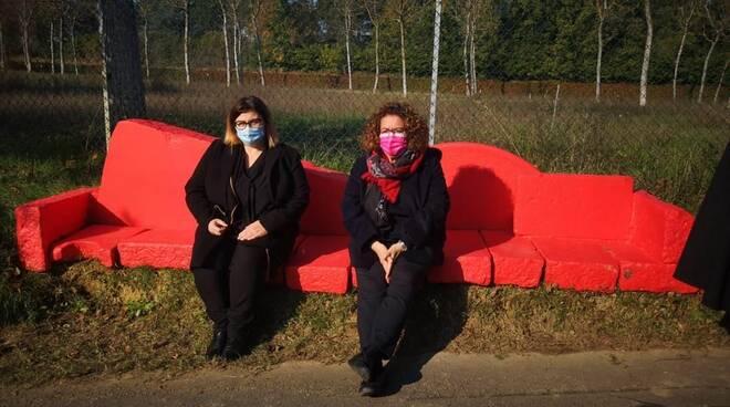 FAenza - panchina rossa 25 11 2020