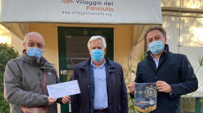 fondazione nuovo villaggio del fanciullo e rotary club galla placidia