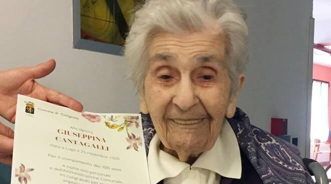 Giuseppina Cantagalli 100 anni