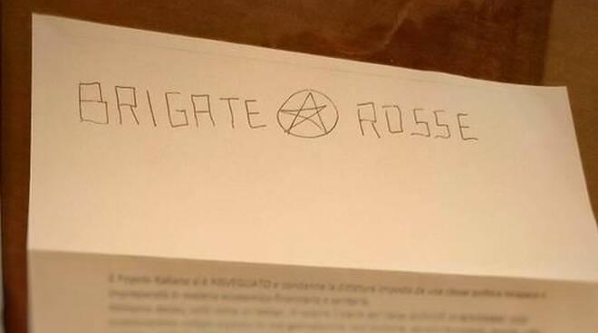 Lettera Brigate Rosse