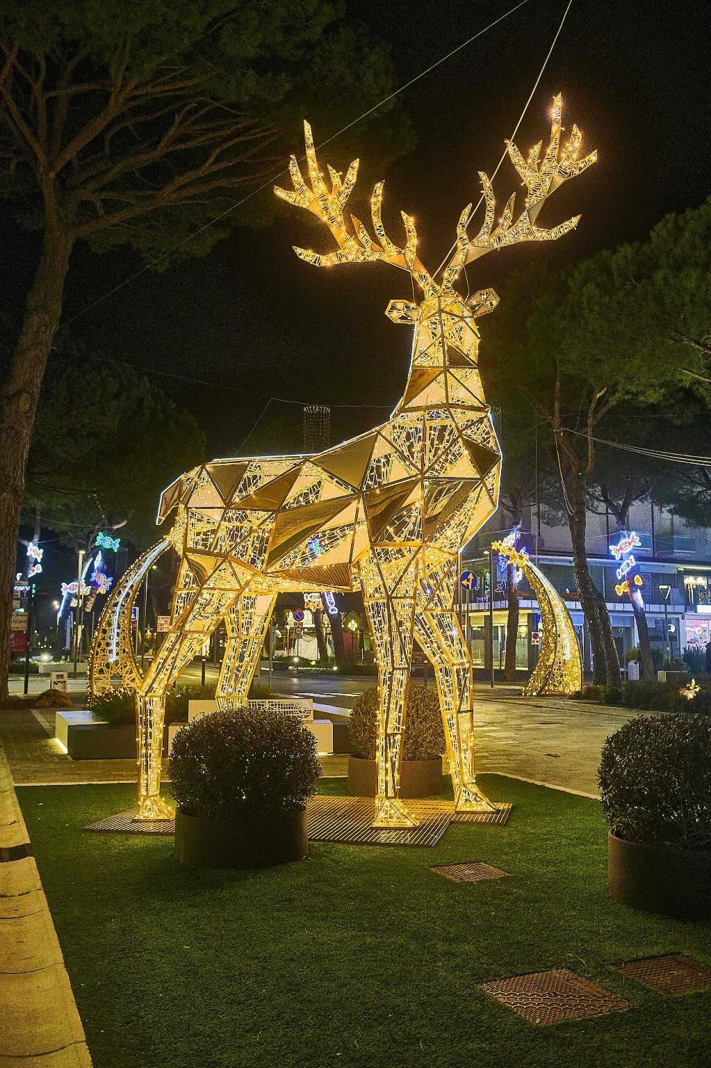 Luminarie Milano Marittima