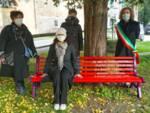 panchina rossa contro la violenza sulle donne