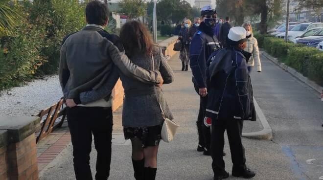 polizia locale  cervia - controlli anticovid