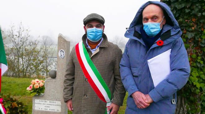 restaurato cippo dedicato alla memoria di Diego Fiocchi