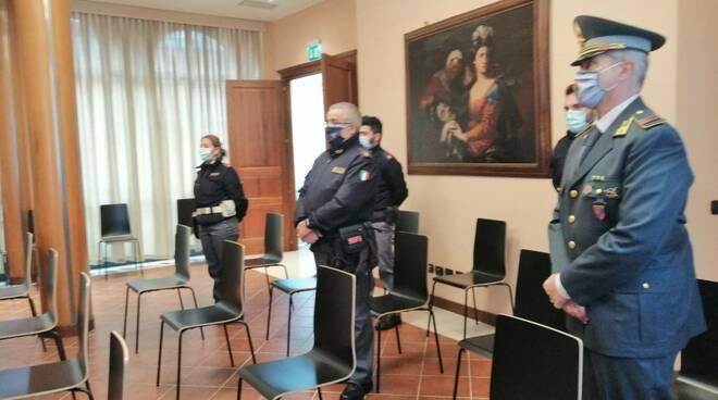 Rimini-agenti ricevuti dal Prefetto