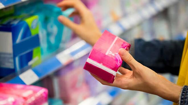 assorbenti femminili mestruazioni