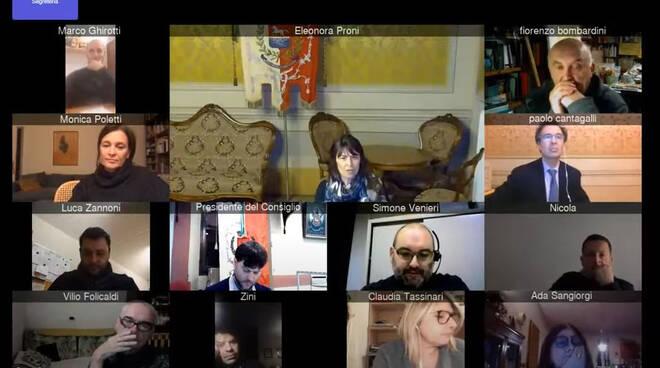 Bagnacavallo-Consiglio comunale in video conferenza