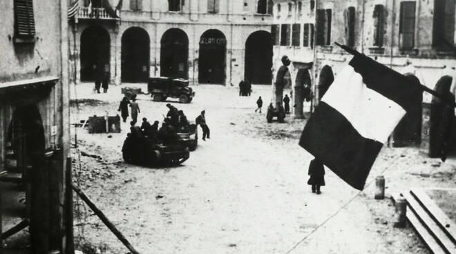 bagnacavallo liberazione 21 dicembre 44 foto storica