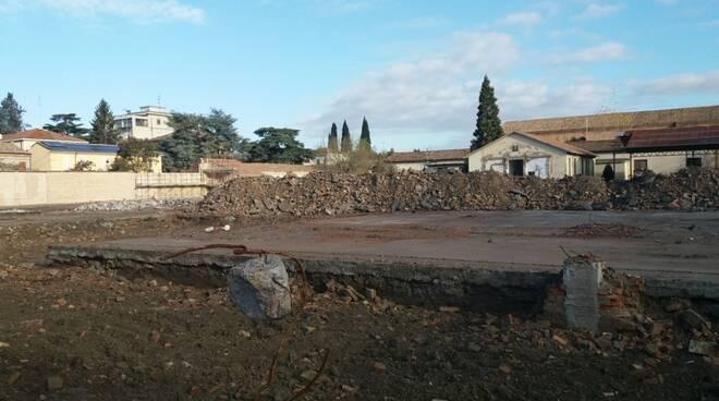 lavori ex caserma Dante Alighieri Ravenna