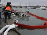 marina di ravenna - peschereccio affondato