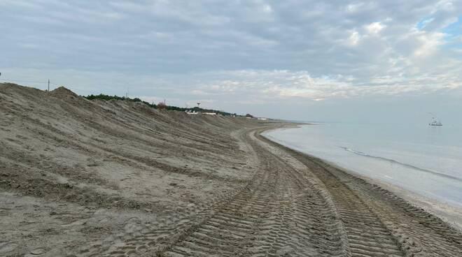 Protezione della costa ravennate dicembre 2020