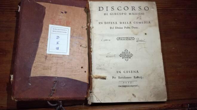 """trattato sulla """"difesa della Comedia di Dante"""" di Jacopo Mazzoni"""