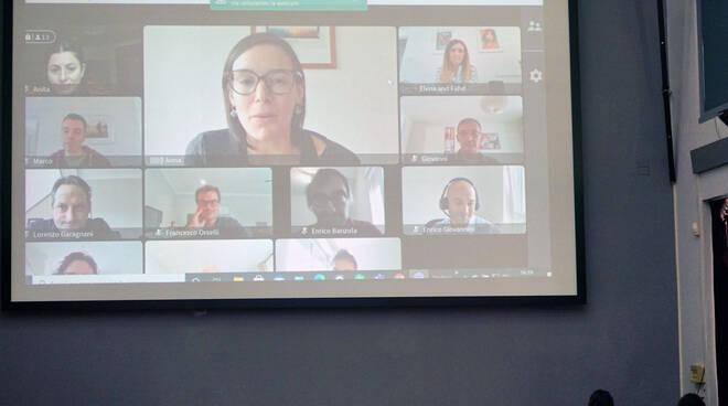 Videoconferenza-bagnacavallo nel mondo