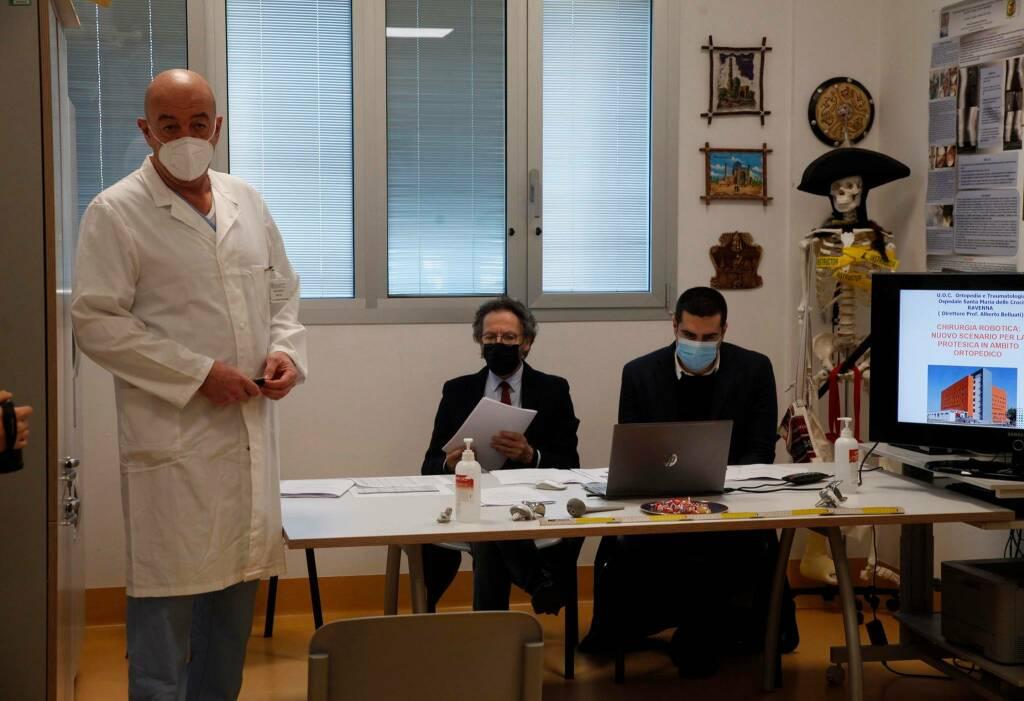Alberto Belluati, direttore U.O. ortopedia e traumatologia ospedale di Ravenna