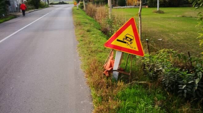 """Ancisi (LpRa): """"Allargare Via Stradone con pista ciclabile a lato"""