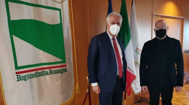 bonaccini e Giani -