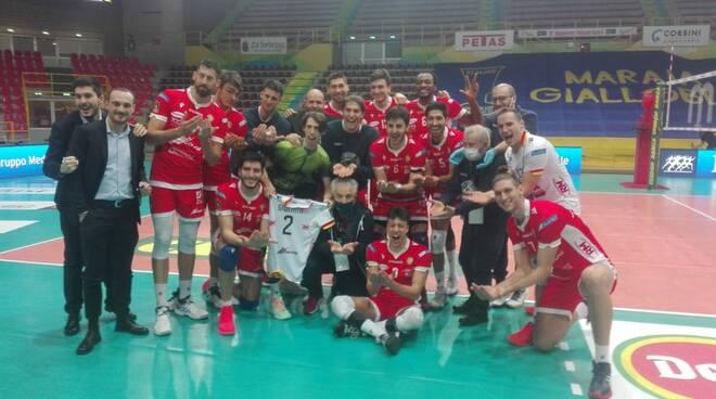 Consar - vittoria a Verona gennaio 2021