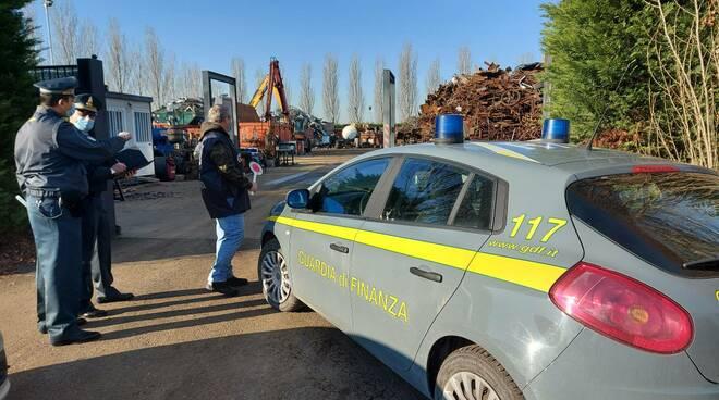 controlli Gdf Ravenna materiale ferroso