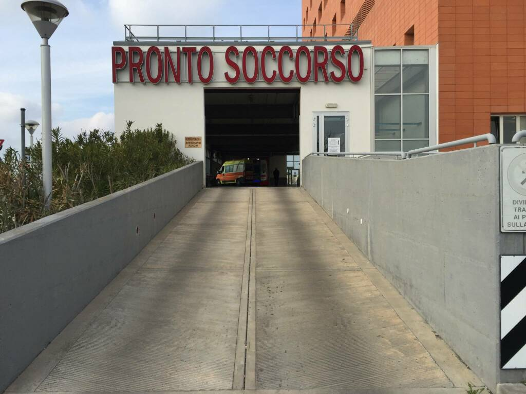 Emergenza covid - Sopralluogo al Pronto Soccorso Ospedale Ravenna 07 01 2021