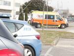 Infortunio sul lavoro a Fornace Zarattini: magazziniere cade da una scala e batte la testa