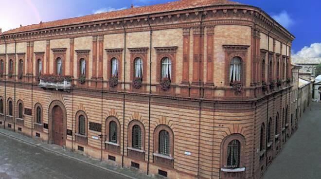 La Cassa di risparmio di Ravenna - palazzo