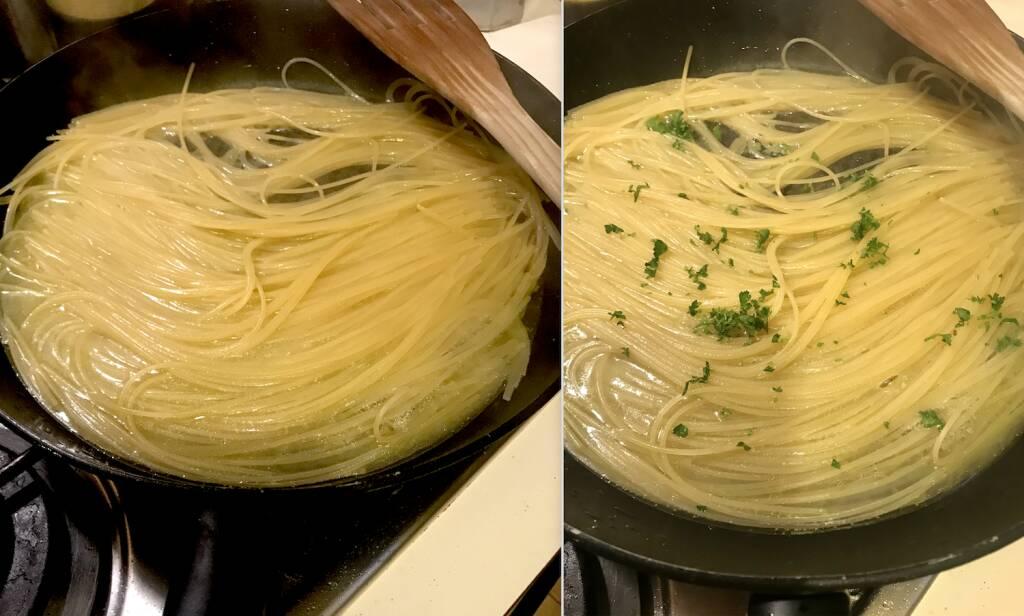 Nevio Ronconi Spaghetti Aglio Olio Peperoncino