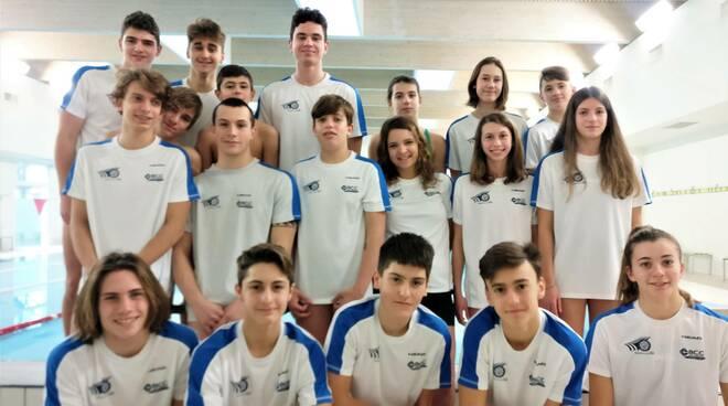 nuotatori Centro Sub Nuoto Club 2000 di Faenza - ( gennaio 2021)
