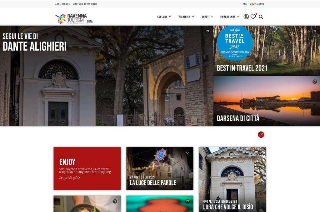 Ravenna Turismo sito