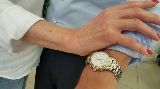 rolex, furto orologio