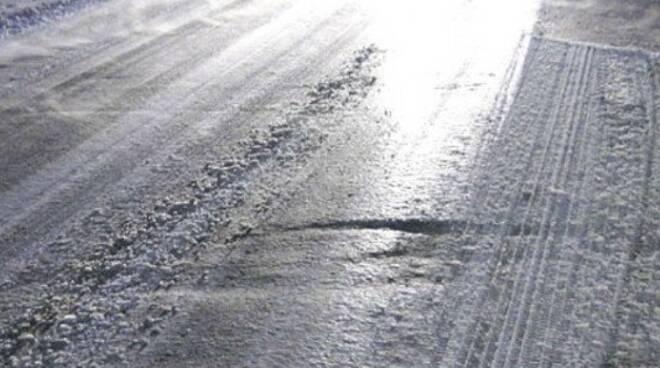 strade ghiacciate