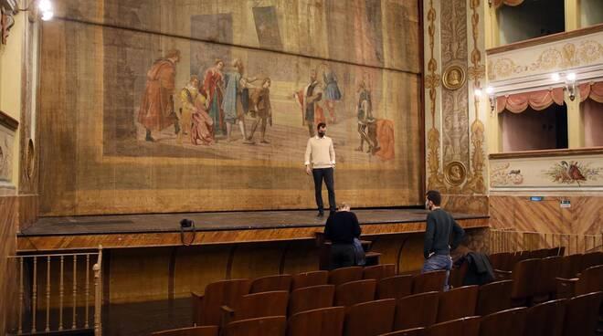 Teatro Goldoni Bagnacavalo - lavori di recupero e riqualificazione