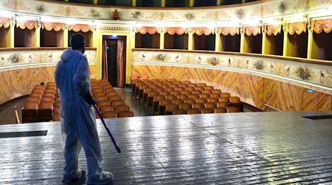 Teatro Goldoni di Bagnacavallo.