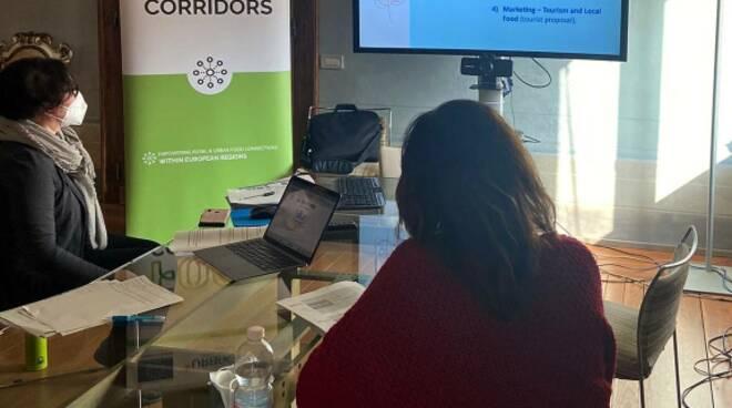 Bassa Romagna. Food Corridors: incontro transnazionale  con i partner europei del progetto