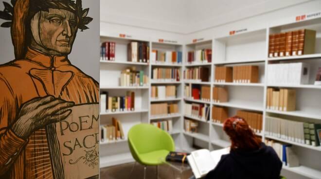 biblioteca classense ravenna - Dante
