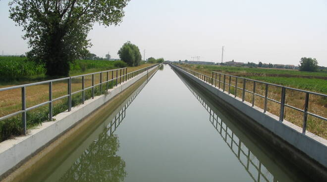 irrigazione - Canale Emiliano romagnolo CER