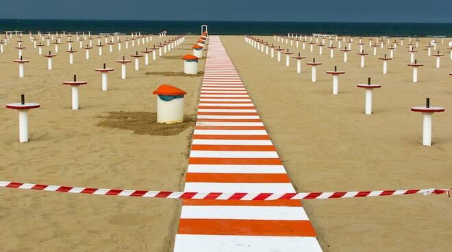 mostra fotografica Roberto Del Bianco Rimini su lockdown