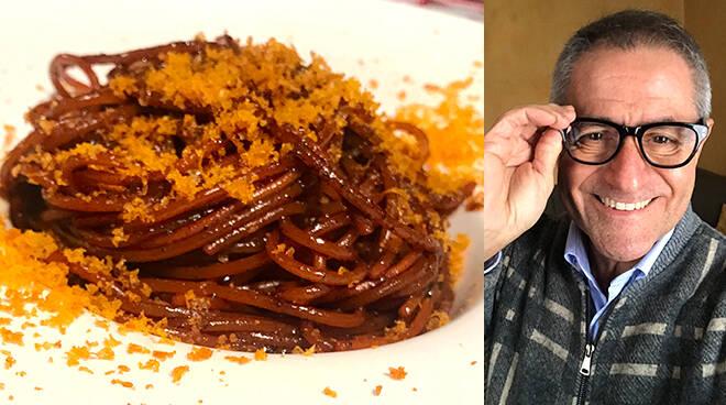 Nevio Ronconi Spaghetti aglio nero