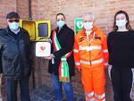 nuovo defibrillatore alla biblioteca comunale di Russi