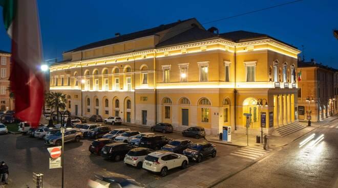 teatro Alighieri  illuminazione 2021