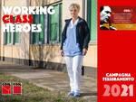 """""""Working class heroes"""" campagna tesseramento della CGIL"""