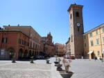 bagnacavallo piazza e torre civica