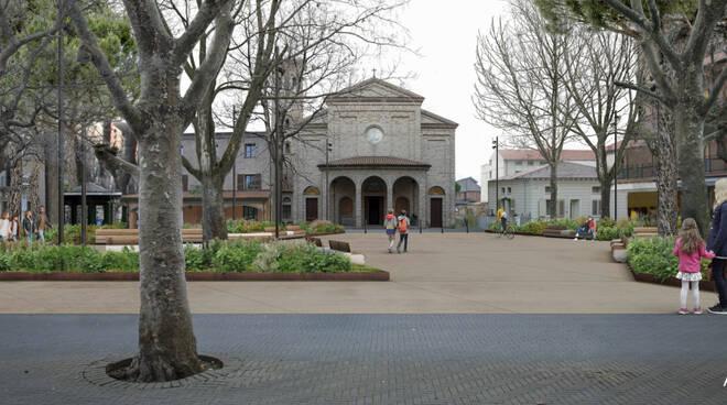 Bellaria Igea Marina piazza don minzoni progetto