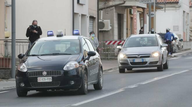 carabinieri - aggressione a Mezzano