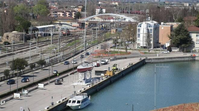 Darsena con nuovo ponte