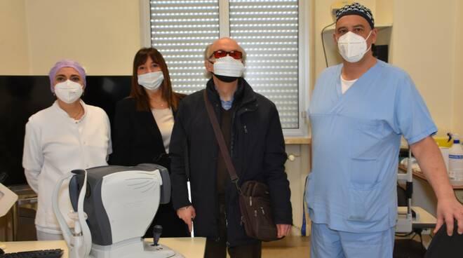 Donazione oculistica ospedale Forlì